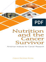 nutrition and the cancer survivor aicr