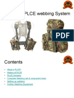 Using the PLCE Webbing System