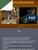 Teknologi-Organisasi
