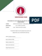 Presentación Grupal - Habilidades Gerenciales