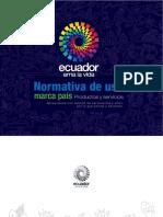 NORMATIVA Ecuador Ama La Vida
