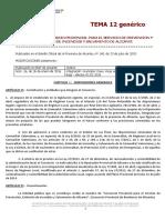TEMA 12 Estatutos y Ordenanza Fiscal