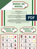 Bingo de Natal - Color