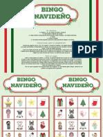 Bingo Navideño - Color