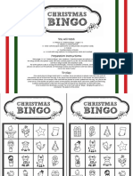 Game_Christmas Bingo_black and White