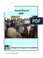 Sangat Sindh Annual Report 2008
