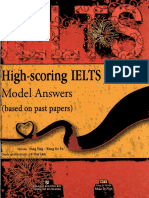 High-score IELTS Writting Model Answers
