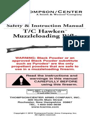 Hawken Manual | Firearms | Gunpowder