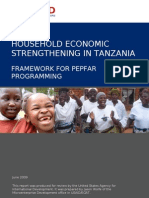 Household Economic Strengthening in Tanzania
