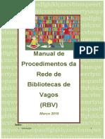 Manual de Procedimentos RBV