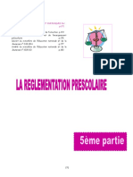 La Reglementation Prescolair