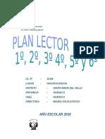 Plan Lector Primaria 2016