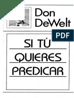 Si Tu Quieres Predicar.pdf