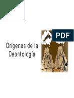Clase 2 Orc3adgenes de La Deontologc3ada Principios y Normatividad Deontolc3b3gicos