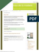 Blog Técnico de La Madera