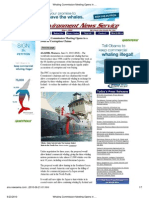 Whaling Commission Meets Amidst Corruption Claims