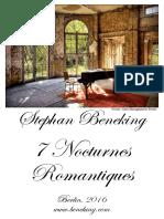 Beneking 7 Nocturnes Romantiques Piano