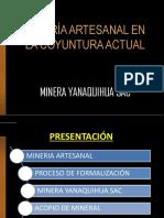 Proceso de formalizacion de la minería artesanal.pdf