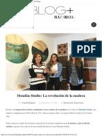 Mondän Studio_ La Revolución de La Madera – BazarED.cl Blog