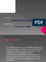 Aditivos Para El Concreto - Ana Torre