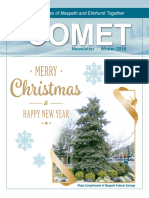 Comet Winter 2016 newsletter