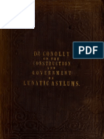 The Construction and Government of Lunatic Asylums - by Dr. John Conolly