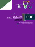 Catálogo para Recordar