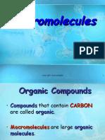 Macromolecules Notes