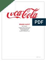 Brand Audit - Coca Cola