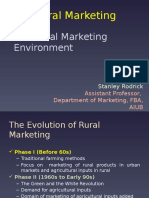 Chapter 2 - The Rural Marketing Econonoy & Environment