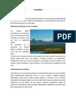 Biomas y Climas de Colombia