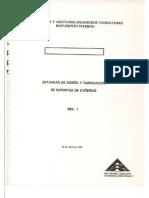 Estadar de Diseño y Fabricacion Para Soportes de Cañerias ARA_2