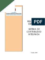 Reglamento Especifico - Sistema de Contabilidad Integrada