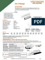 Emergency Conversion Pack VOL380 Data Sheet
