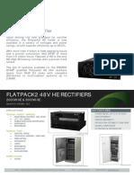Datasheet Flatpack2 48V HE Rectifiers