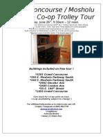 Grand Concourse/Mosholu Art Deco Real Estate Trolley Tour