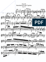 Regondi - Introduction and Caprice, Op.23