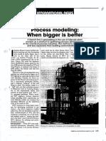 2. Process Modeling Pilot Plant