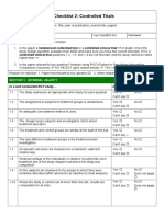 20150907 Checklist for Controlled Trials