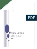 Direito Ambiental Aula 1-2016 [Somente Leitura] [Modo de Compatibilidade] (2)