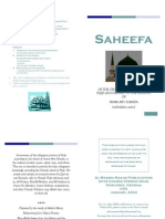 Saheefa (Booklet Version) Hanafi Fiqh By Shaykh Ninowy