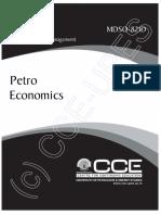 MDSO 821D Petro Economics e Book