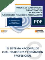 Sistema Nacional Cualificaciones