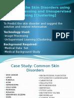 Predicting the Skin Disorders