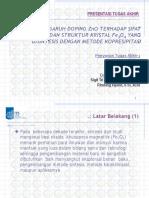 ITS Undergraduate 15589 2705100045 Presentation