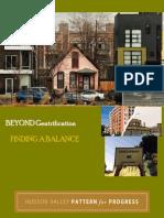 Pattern for Progress 2016 Housing Report