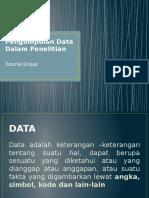 Metode Pengumpulan Data Dalam Penelitian (2)