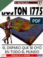 Ejercitos y Batallas 77-Boston-1775