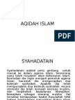 AQIDAH ISLAM.ppt