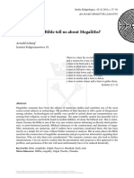 3-Studia Religiologica 45- What does the Bible tell us about Megaliths Lebeuf.pdf